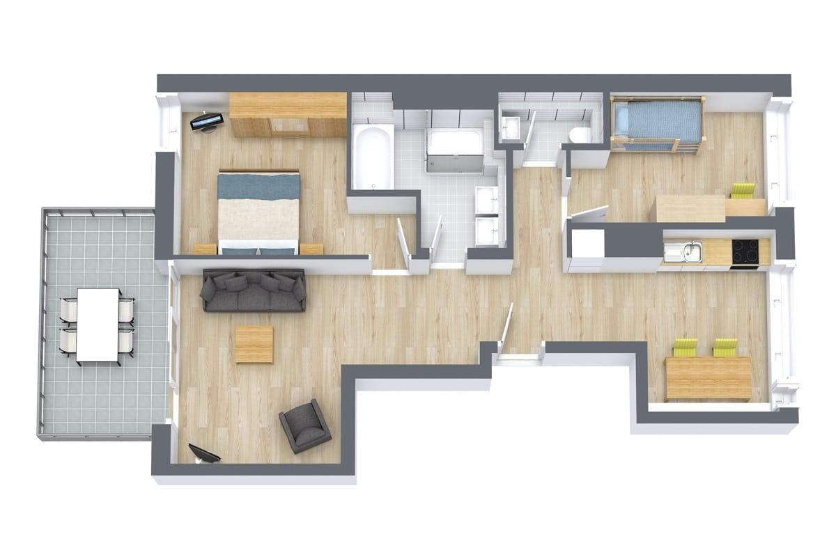 Apartment 69104 Floor Plan